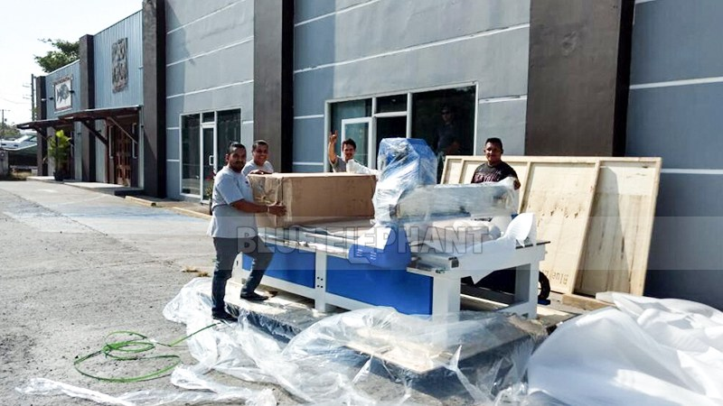 Our 1325 CNC Machine Was Shipped to Our Panama Customer