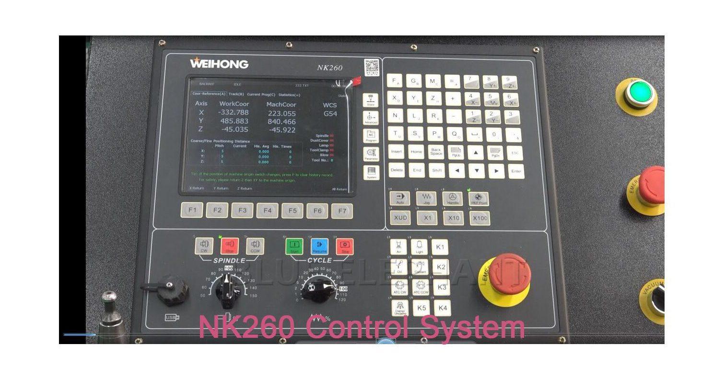 Come impostare il punto zero del pezzo nel sistema di controllo NK260
