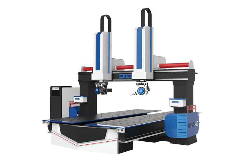 أحدث 3D-1224-5-Axis-CNC-Router-Machine 2