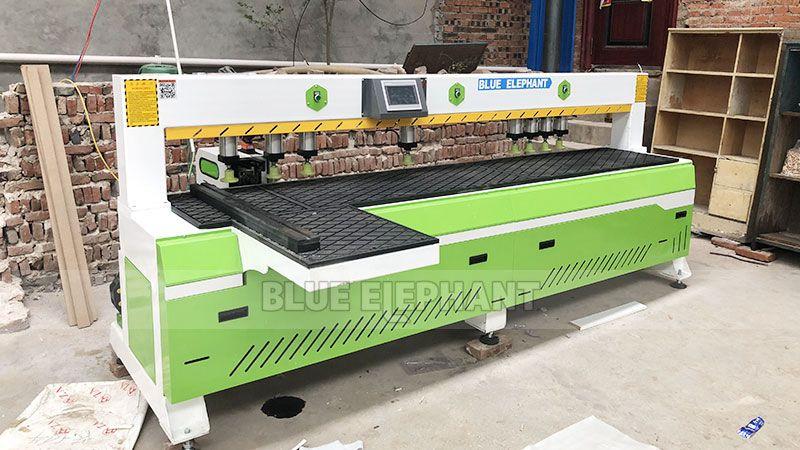 Kundendienst in China Henan, Kunde kaufte unsere vier Maschinen (9)
