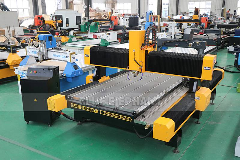Customized 1325 Stone Cnc Router for Engraving Stone (3)