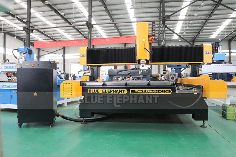 Customized 1325 Stone Cnc Router for Engraving Stone (5)