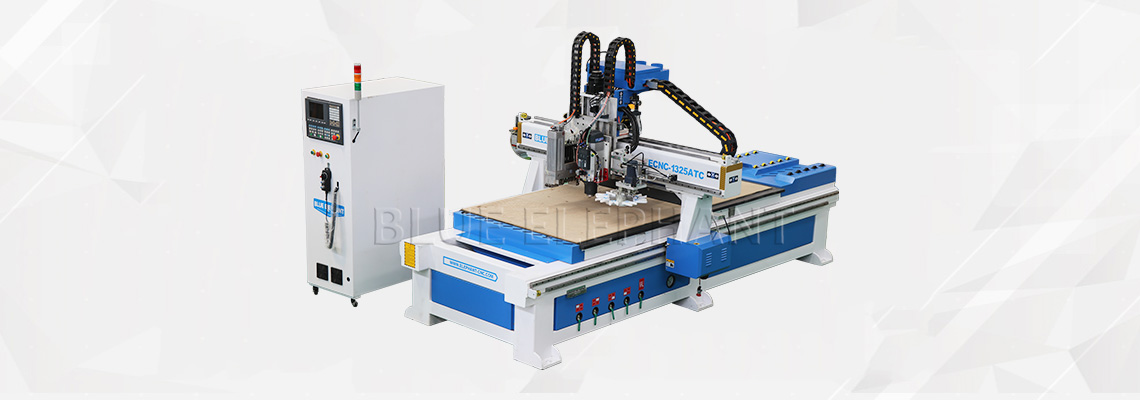 Auto Feeding Furniture Production Line with Carousel Tool Storage11