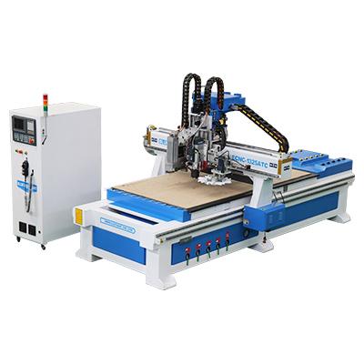 Línea de producción de muebles con alimentación automática ELECNC-1325 con almacenamiento de herramientas de carrusel
