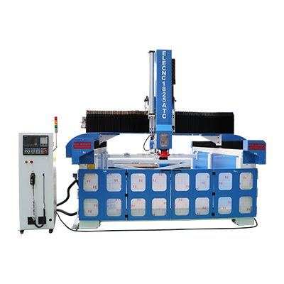 Machine de sculpture CNC EPS avec changeur d'outils linéaire