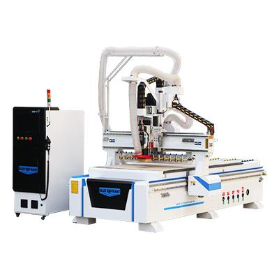 1325 4x8 ATC Heavy Duty CNC Machine à bois avec dispositif d'alimentation automatique à vendre
