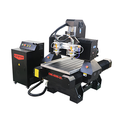 Multl Spindle 6090 Mini CNC Router Machine لمعالجة Metel