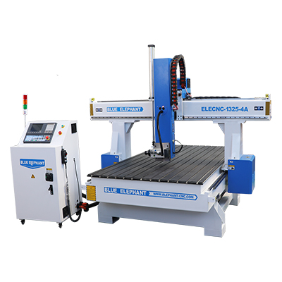 1325 4x8 4-assige CNC-router 3D houtsnijmachine