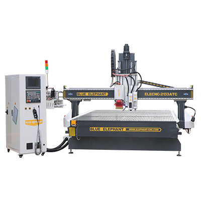 ELECNC 2133 ATC CNC Router with Oscillating knife