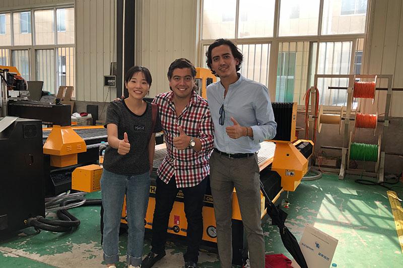 نرحب بالعملاء المكسيكيين لزيارة المصنع