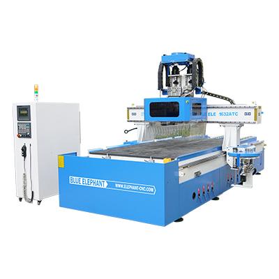 Máquina de grabado de perforación ATC multifuncional con agregados