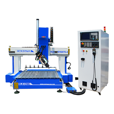 1212 4 Axis Small ATC CNC Router for 3D wood Workpieces