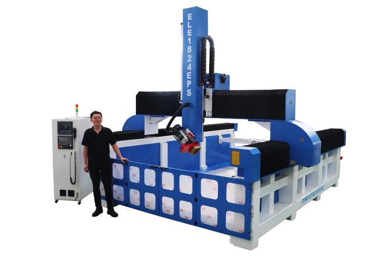 Schaum-CNC-Fräser mit Linear Tool Change Magazine