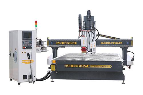 2133 ATC Heavy Duty CNC Machine avec couteau oscillant