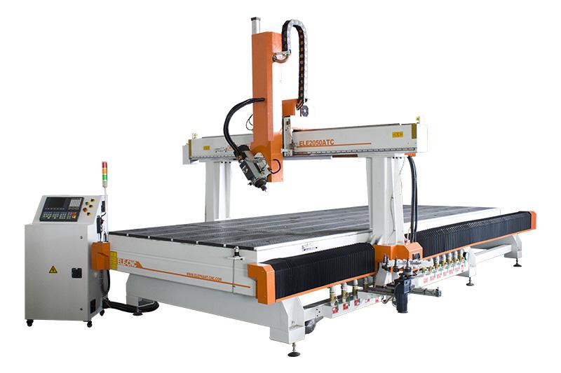 2050 3D CNC Holzschnitzmaschine mit ATC HSD Spindel