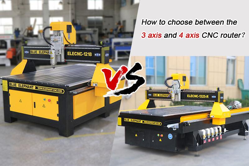 So wählen Sie zwischen dem 3-Achsen- und dem 4-Achsen-CNC-Fräser?