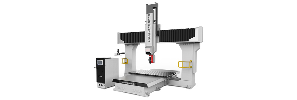 Router CNC dell'asse 5