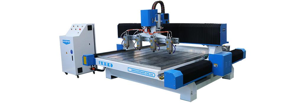 Máquina de grabado CNC de piedra