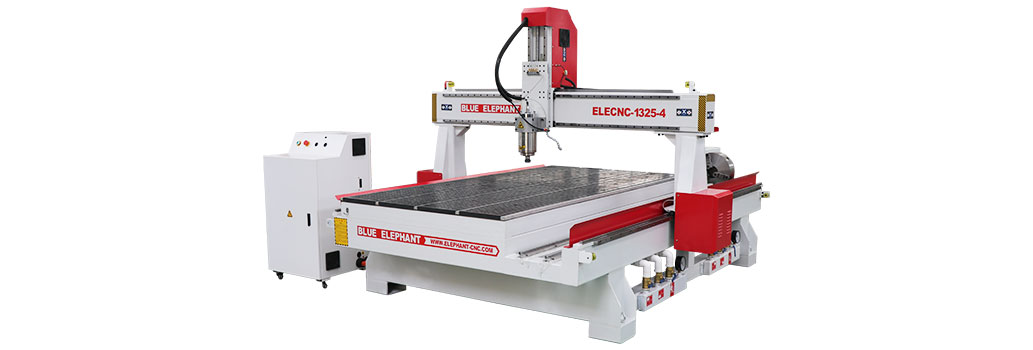 roterende as cnc router
