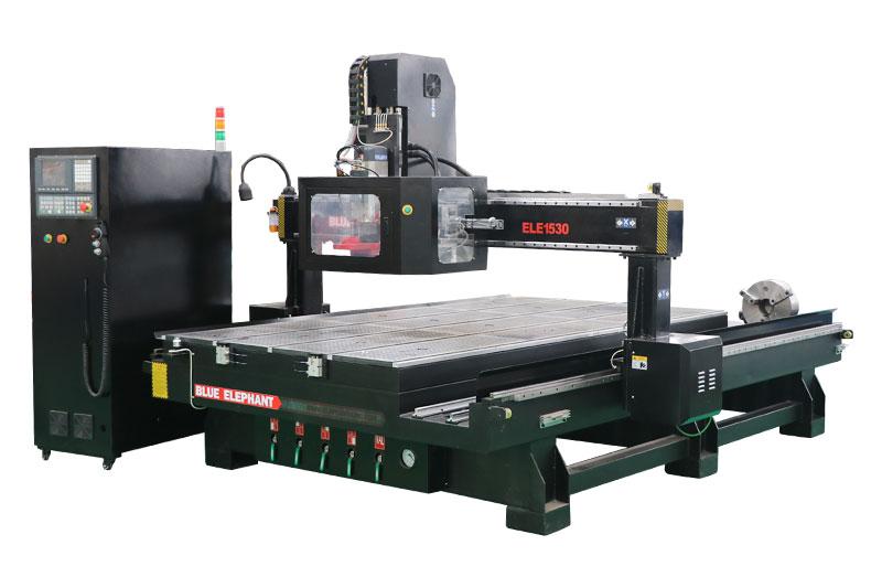 Machine de routeur CNC 5x10 avec changeur d'outils automatique