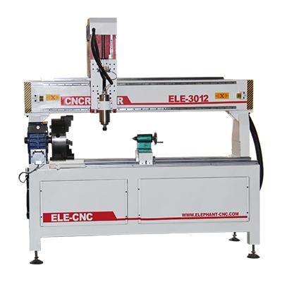 CNC-Drehmaschine für Holz