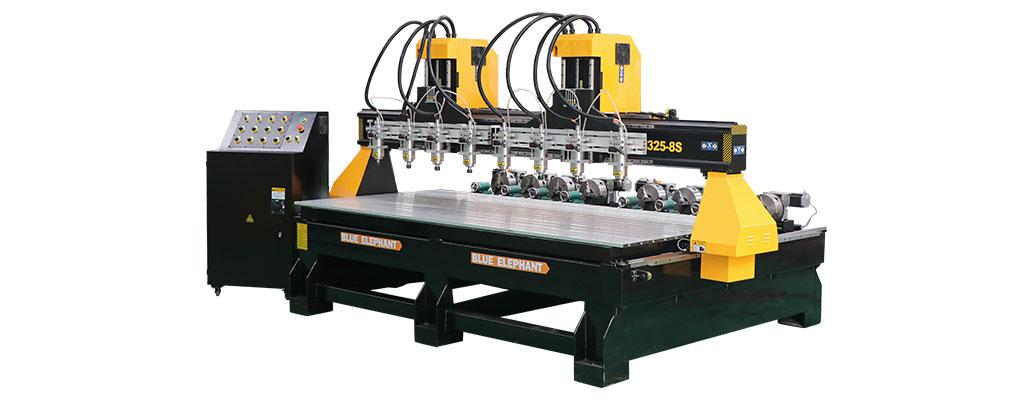 جهاز توجيه CNC متعدد الرؤوس