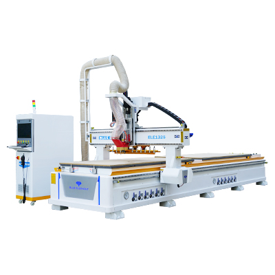 Centro de mecanizado CNC lineal ATC con doble plataforma