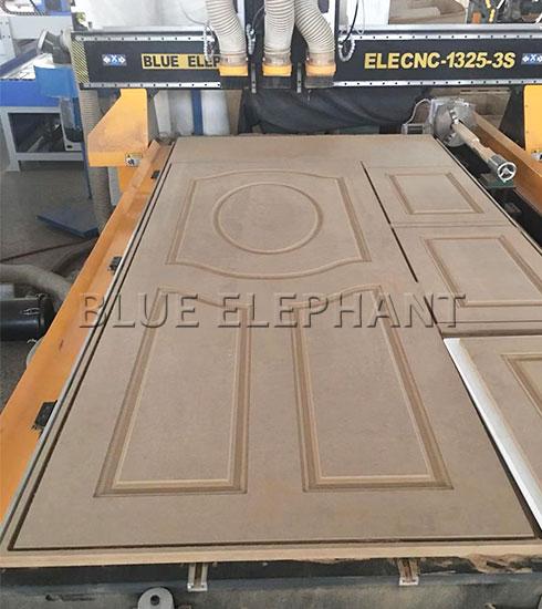Fabricación de puertas de madera enrutador cnc 4x8