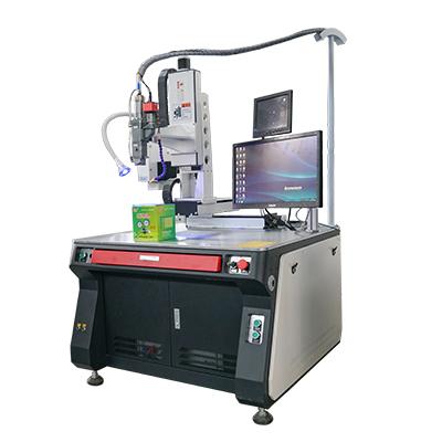 Saldatrice laser automatica per la produzione di massa