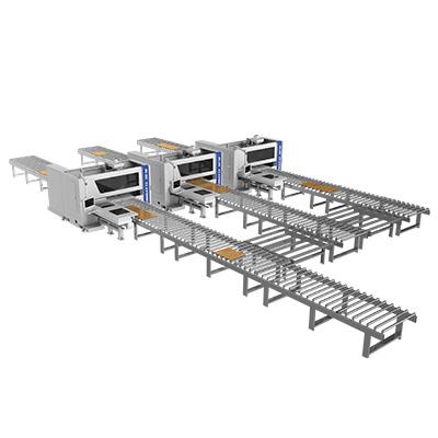 Célula de la máquina de perforación del CNC