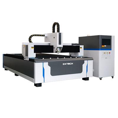 Máquina de corte por láser de fibra de cama plana para metal