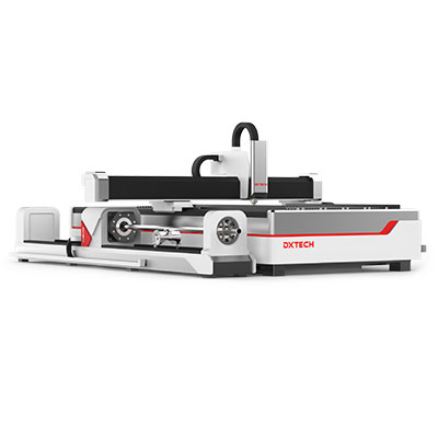 Flachbettfaserlaserschneidemaschine für Metall