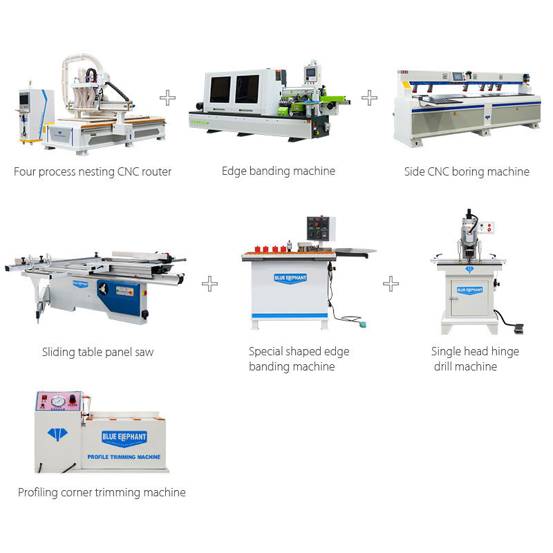 Solución de producción de gabinetes