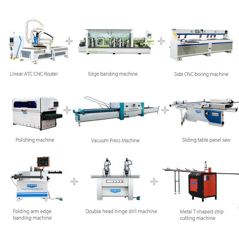 Solución de producción de armario / puerta de armario (termoplástico / plano)