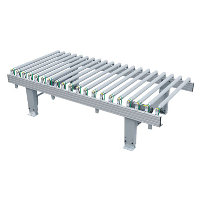 Mesa de rodillos con revestimiento eléctrico