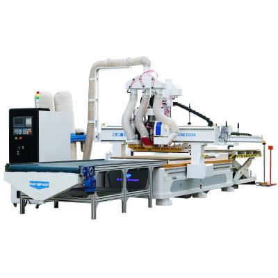 Automatisch laden en lossen Nesting CNC met automatische etikettering