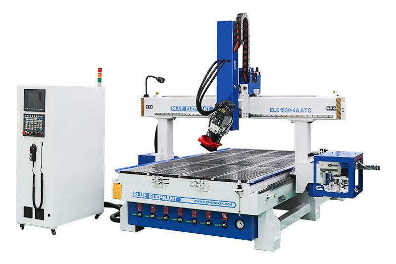 1530 5x10 CNC Fräser mit automatischem Werkzeugwechsler Spindel