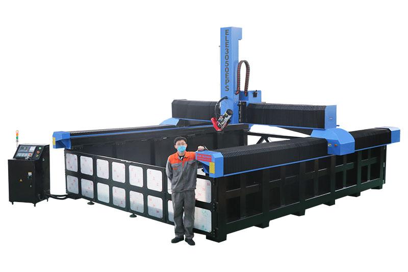 Hochwertiger CNC-Fräser aus EPS-Schaum 3050 mit Drehvorrichtung