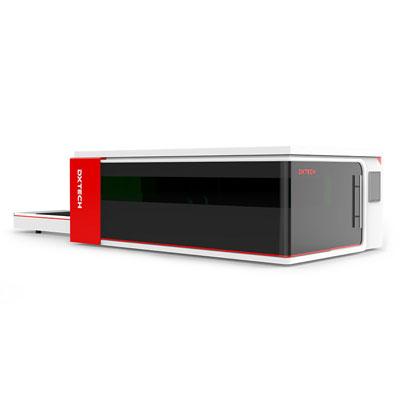 منصة التبادل آلة القطع بالليزر CNC للصفائح المعدنية مع غطاء الحماية