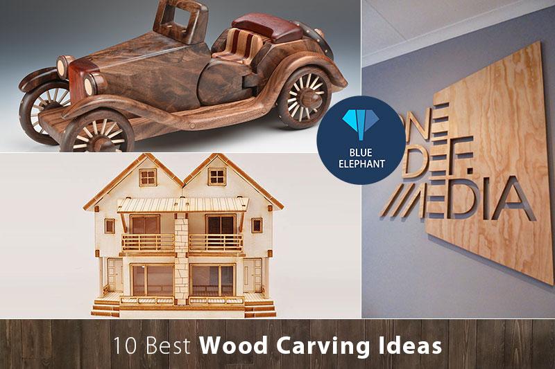 أفضل 10 أفكار نحت الخشب للمبتدئين