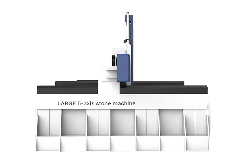 Centro de mecanizado cnc de 5 ejes